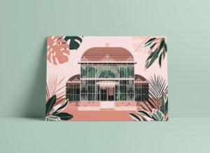 Palmarium Nantes Postcard